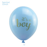 Gender Reveal Baby Shower Balloons