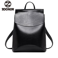 Fashion Women Leather High quality Backpacks