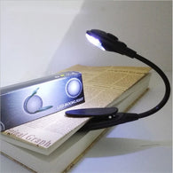 LED Mini Clip-On Flexible Bright Reading Lamp
