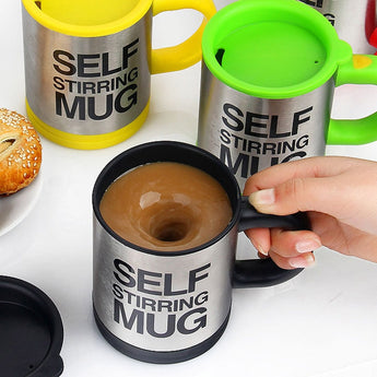 Automatic Electric Lazy Self Stirring Coffee Mug