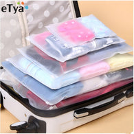 PVC Waterproof Packing Organizer /Cosmetic 5 Bags