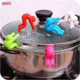 Silicone Raise Anti Overflow Pot Lid