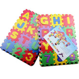 Funny Cute Baby EVA Foam Play Number Puzzle Mat