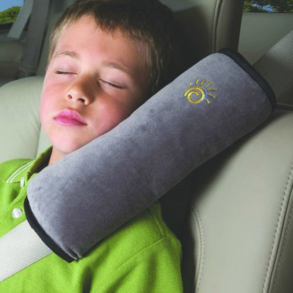 Auto Safety Seat Belt Cushion Pad Kid Car Pillow