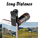Telescope Mobile Camera With 12X Zoom Lens