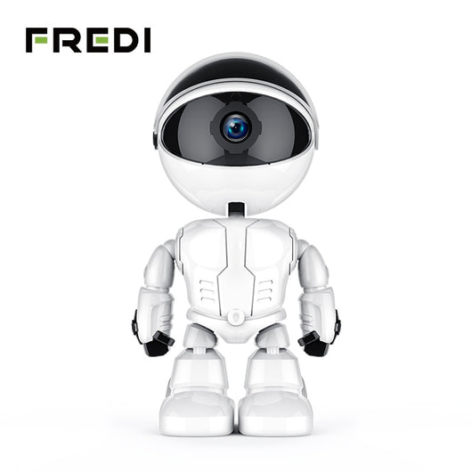 Robot Intelligent Auto Tracking WiFi Home Security IP Camera
