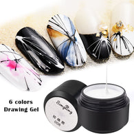 Creative Wire Drawing Nail Art Gel polish
