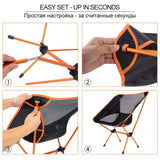 Ultralight Portable High Load Folding Chair For Outdoor
