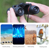 Zoom Telescope Folding Binoculars with Low Light Night Vision
