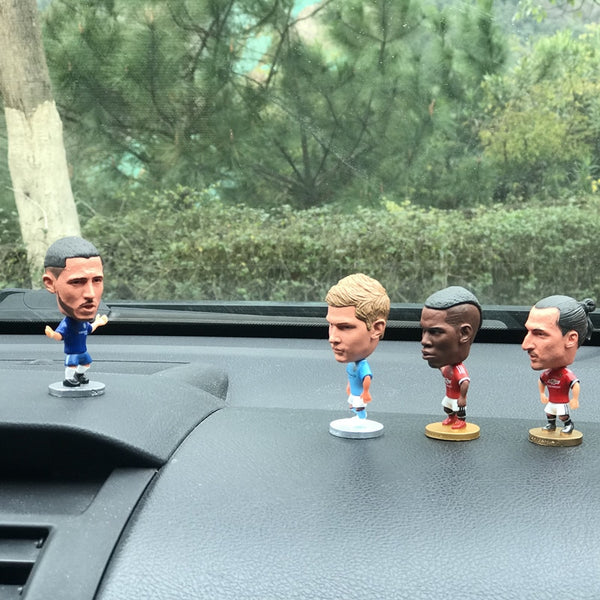 Decorative football League Club Star Doll Car Accessories