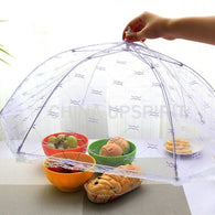 Umbrella Lace Folding Anti-fly Table Food Dish Cover
