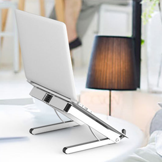 Adjustable Foldable Alloy Ventilated Laptop Stand