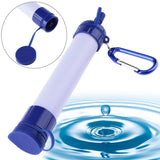 Portable Personal Emergency Water Purifier With Straw