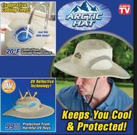 Arctic Cooling Ice Bucket Hat With UV Protection