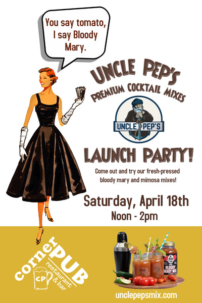 Uncle Pep's Launch Party!