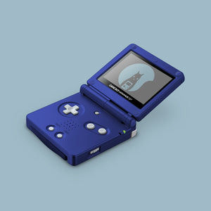 Blue Game Boy Advane SP Shell