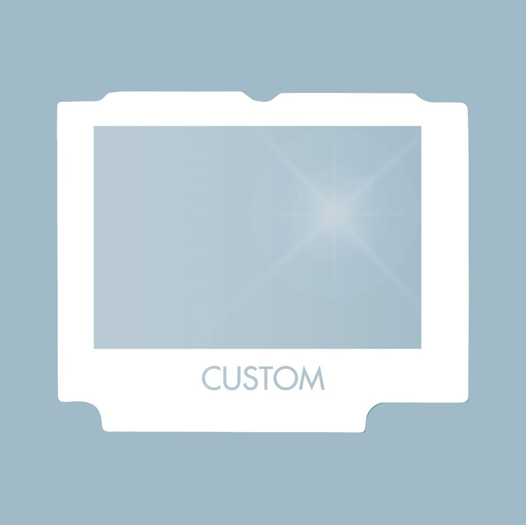 Glass Custom Game Boy Advance SP Screen Lens