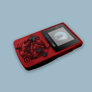 Ocarina Metalic Red Game Boy Color Shell (Prototype)