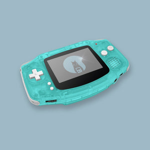 Glow In The Dark Green1 Game Boy Advance Shell