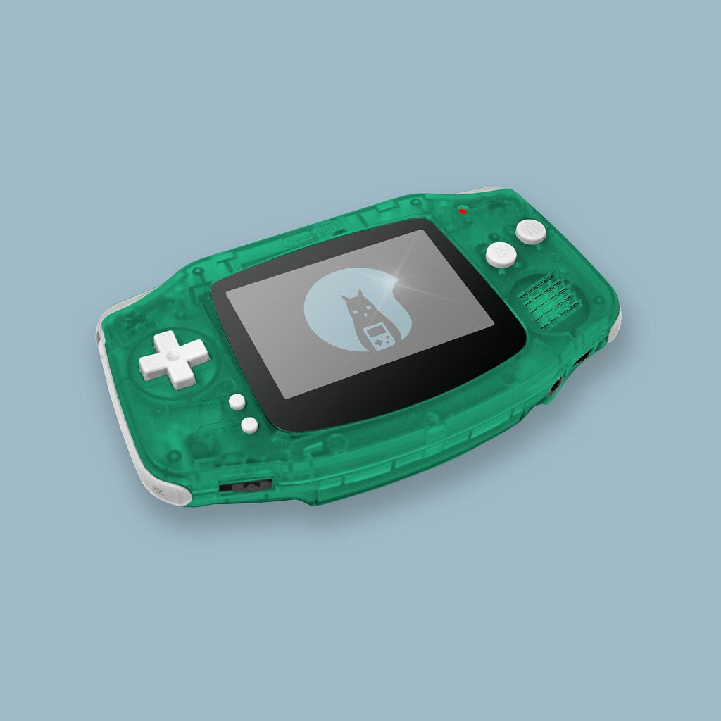 Glow In The Dark Green2 Game Boy Advance Shell