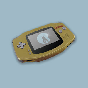 Gold Game Boy Advance Shell