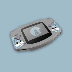 Silver Game Boy Advance Shell
