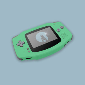 Pastel Green Game Boy Advance Shell