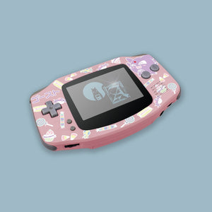 Kawaii Haunter Pink Game Boy Advance Shell