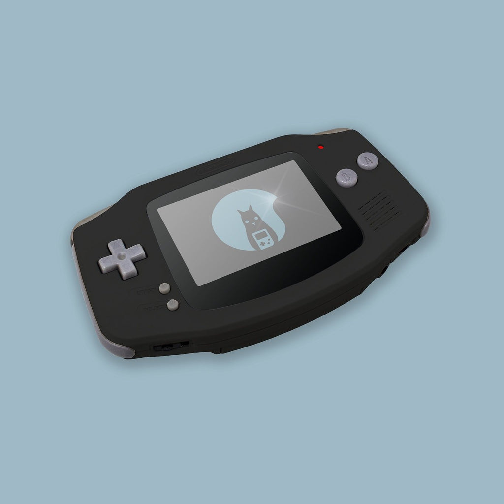 Black Game Boy Advance Shell