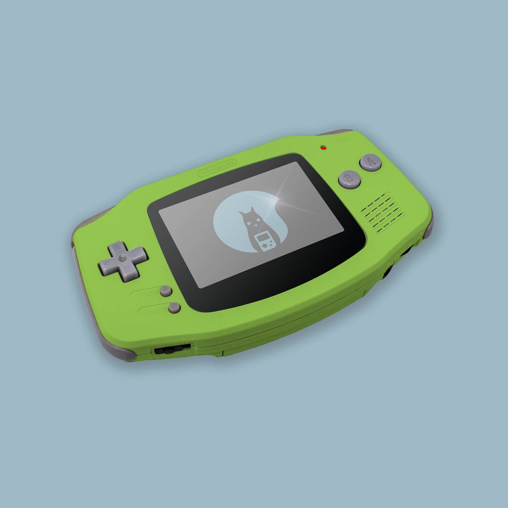 Lime Game Boy Advance Shell