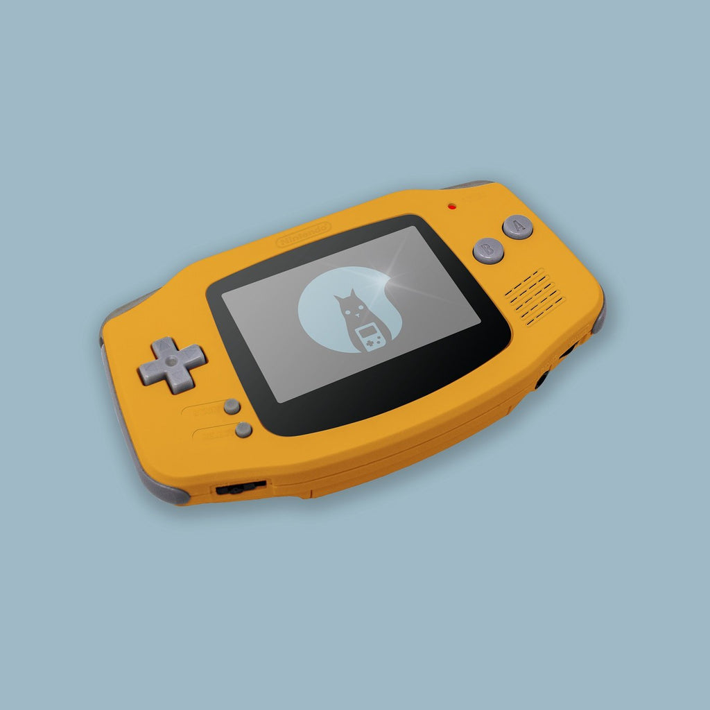 Orange Game Boy Advance Shell