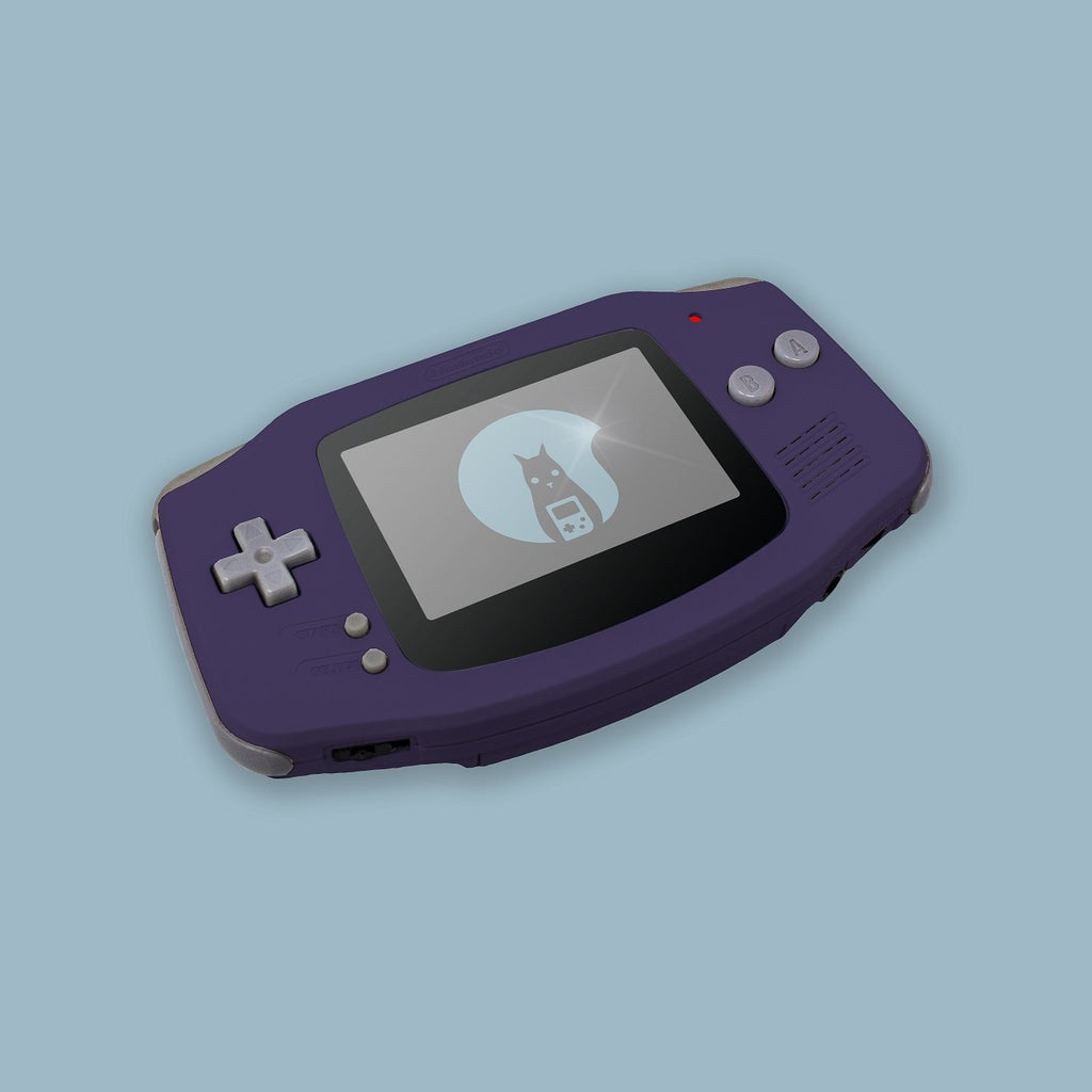 Purple Game Boy Advance Shell