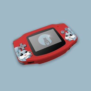 Red Game Boy Advance Shell