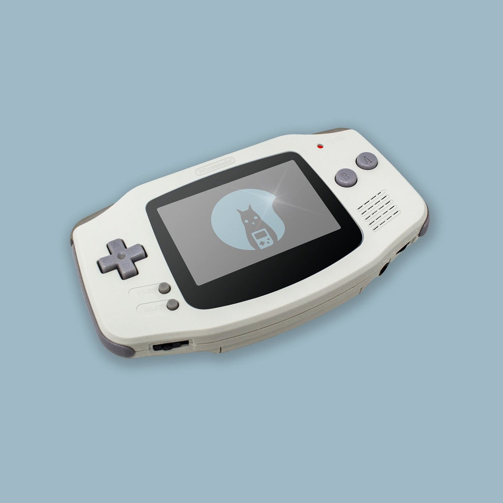 White Game Boy Advance Shell
