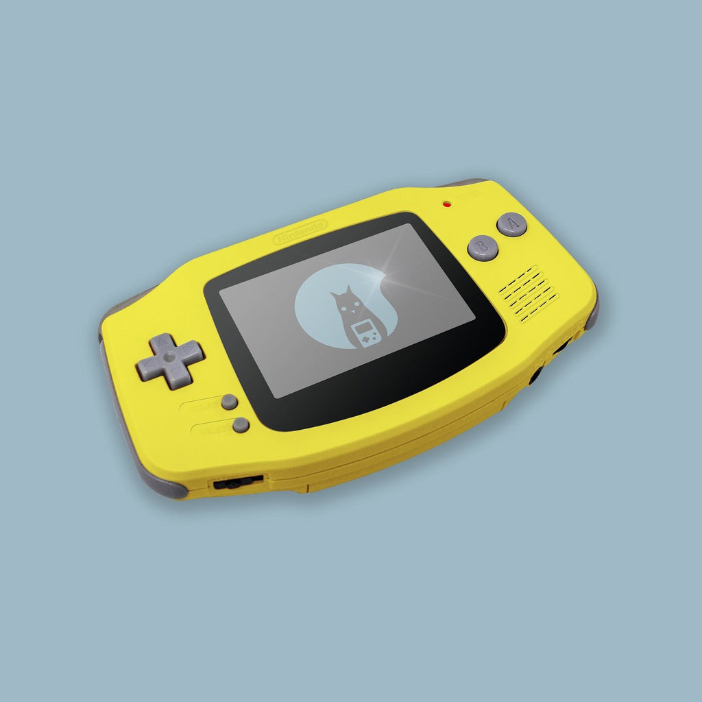 Yellow Game Boy Advance Shell