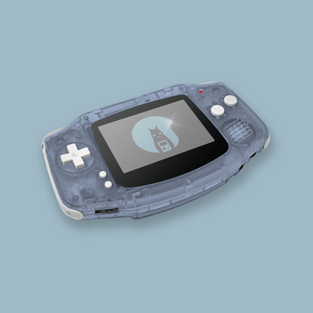 Glacier Game Boy Advance Shell