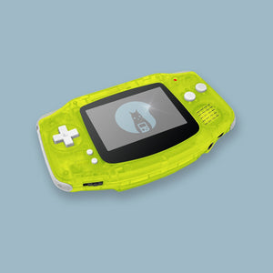 Transparent Yellow Game Boy Advance Shell