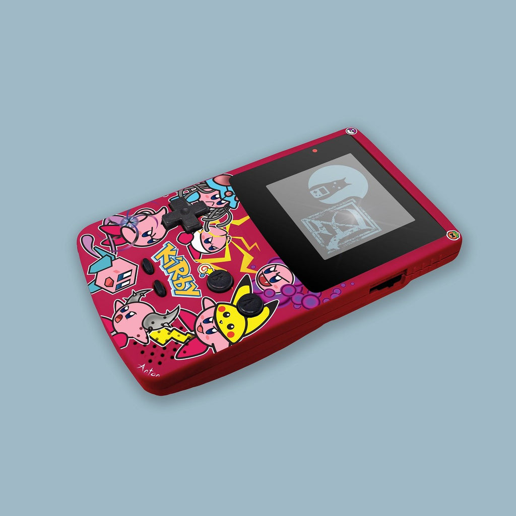 Cosplay Kirby Game Boy Color Shell