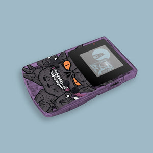 Comic Gengar Evolution Game Boy Color Shell