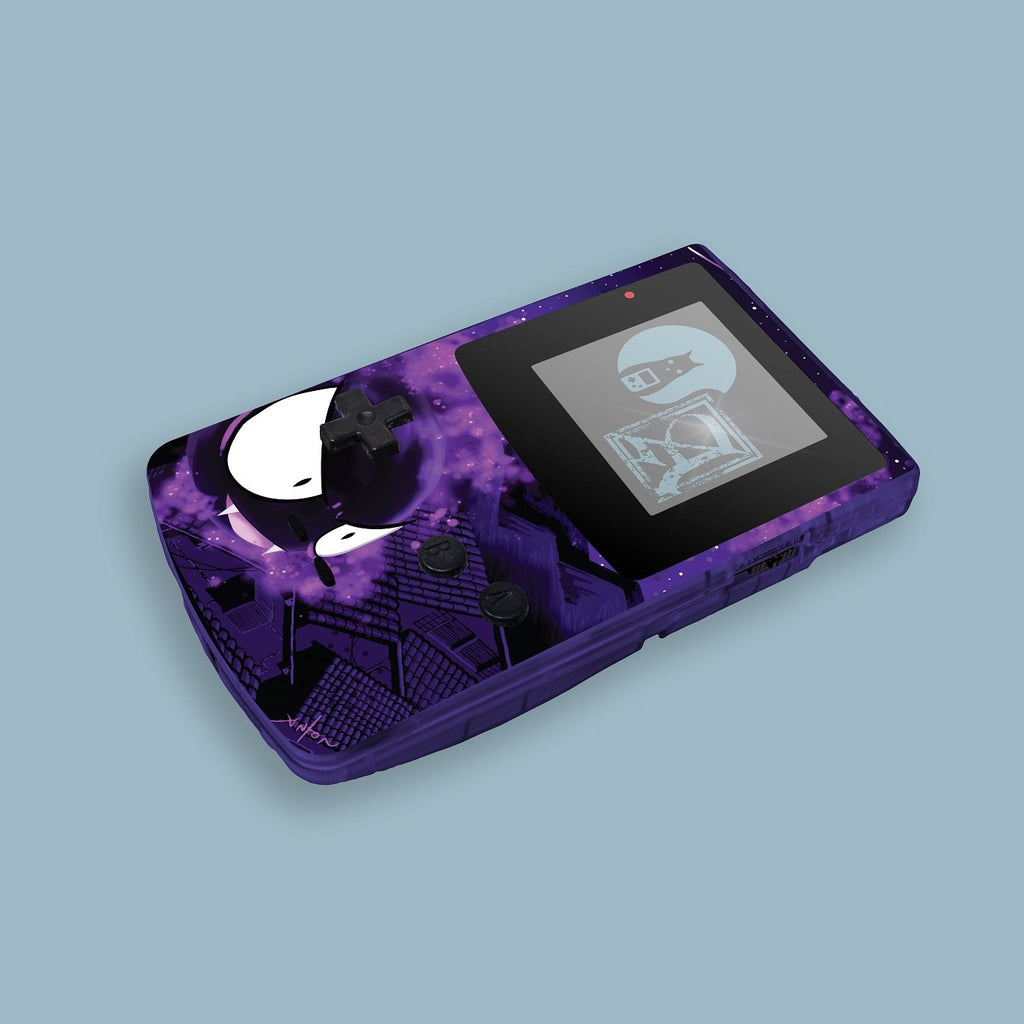 Gastly Game Boy Color Shell