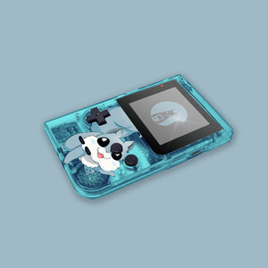 Glow In The Dark Blue Game Boy Pocket Shell
