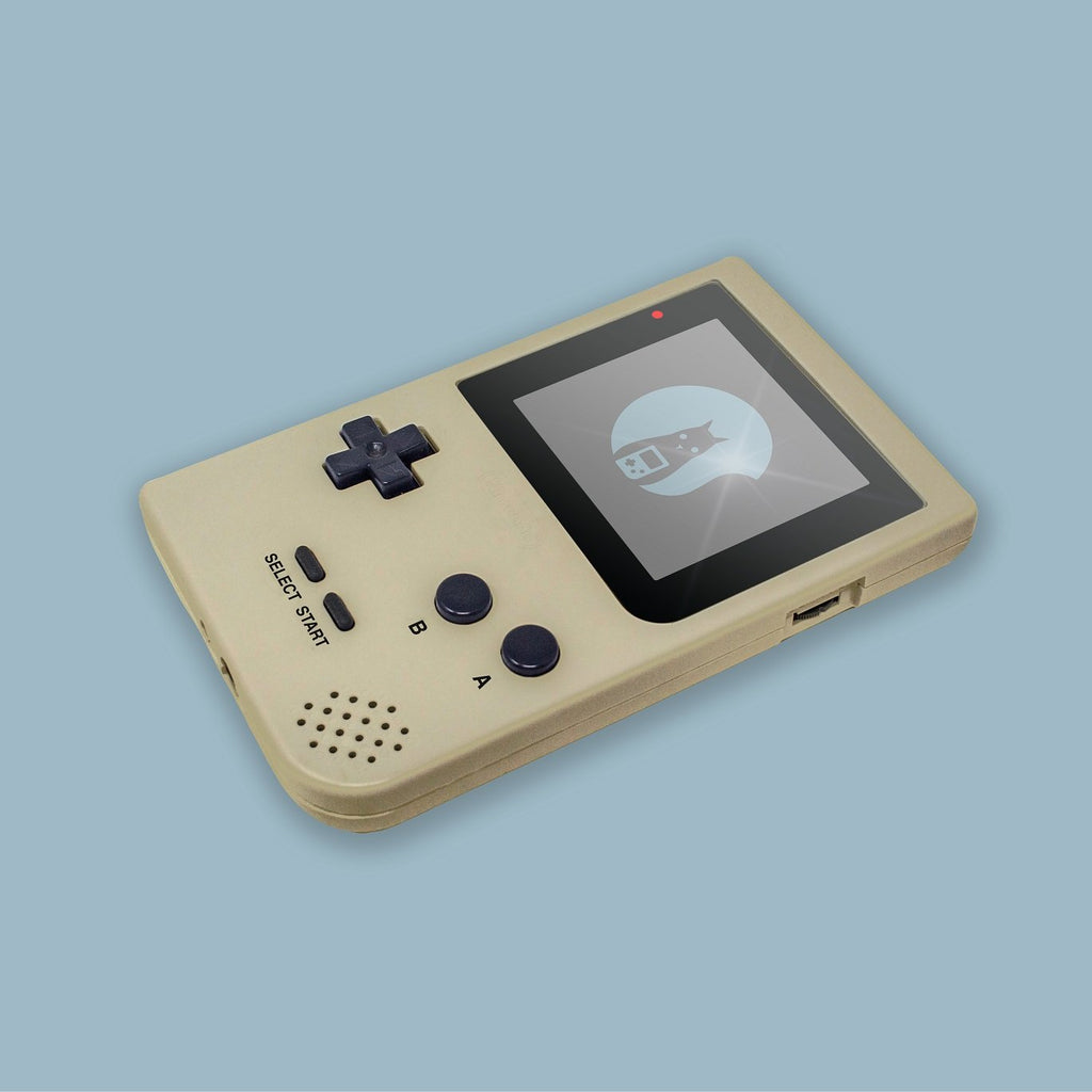 Gold Game Boy Pocket Shell