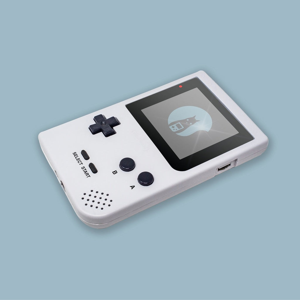 White Game Boy Pocket Shell