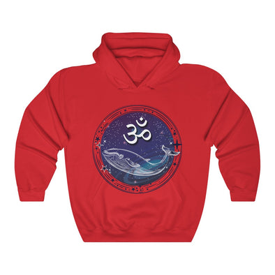ॐ and Whale Hoodie | greatspiritualgifts.com