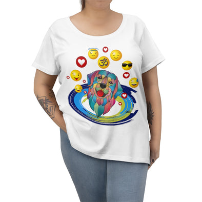 ♥ my best friend - ॐ dog women plus size tee  (14, 16, 18, 20, 22, 24, 26, 28) - greatspiritualgifts.com