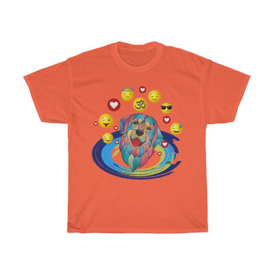♥ my best friend - ॐ om dog heavy cotton t-shirt (S, M, L, XL, 2XL, 3XL, 4XL, 5XL) - greatspiritualgifts.com