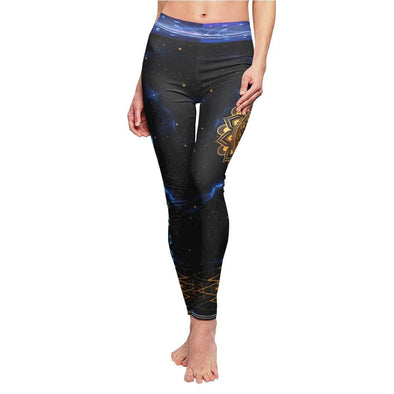Golden Mandala Yoga Leggings | greatspiritualgifts.com