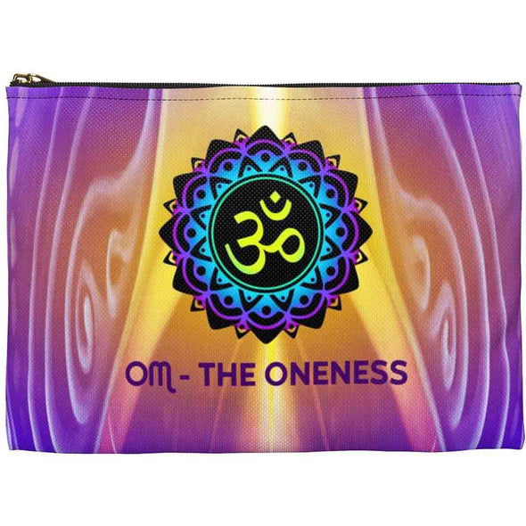 meditation art accessory pouch back | greatspiritualgifts.com