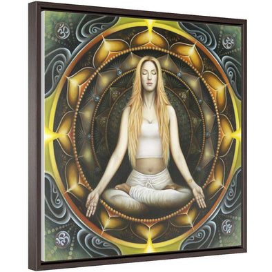 Framed Meditation Wall Art | greatspiritualgifts.com