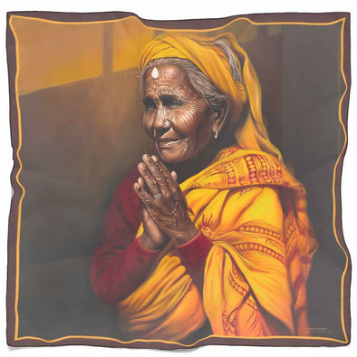 Praying Woman Scarf | greatspiritualgifts.com